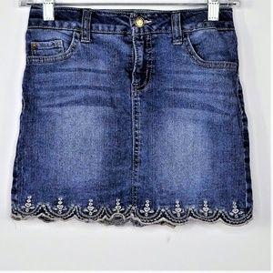 Cat & Jack Girls Denim Skirt